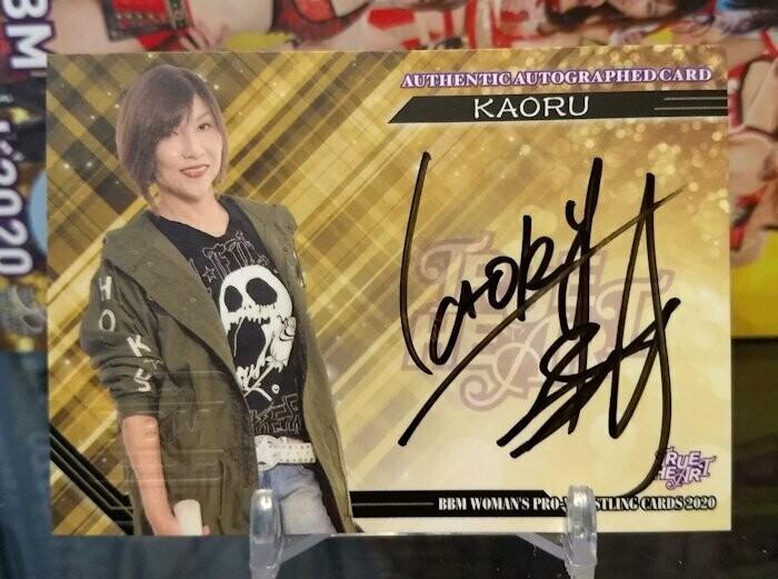 KAORU 2020 BBM Joshi True Heart Autograph /100