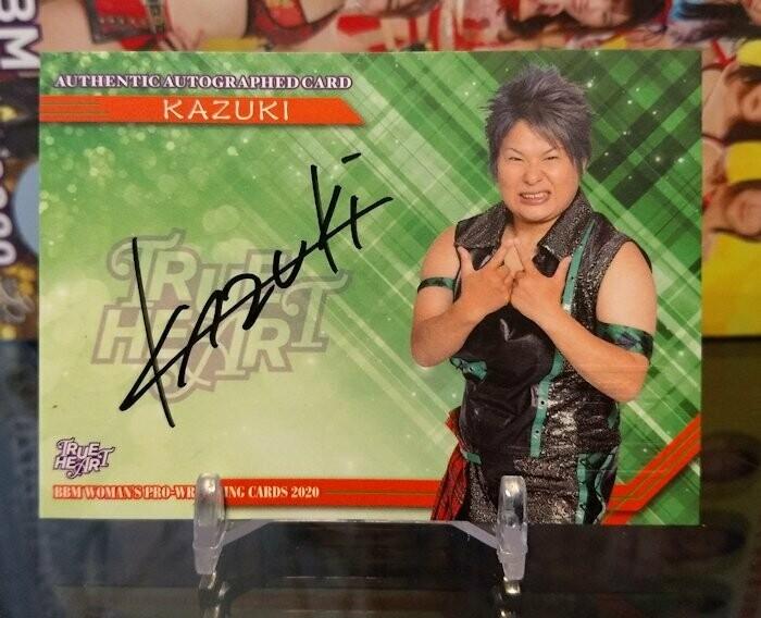 KAZUKI 2020 BBM Joshi True Heart Autograph /100
