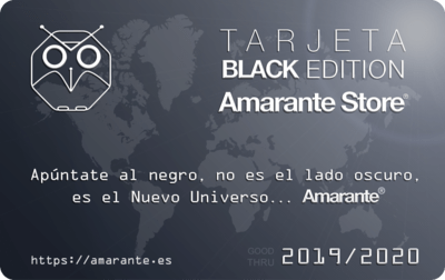 Tarjeta Black Edition Amarante Store