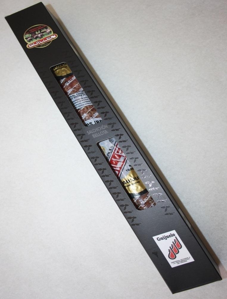 Salchichón Ibérico Vela Bellota - Peso aproximado: 450 g a 500 g sin contar el embalaje GUILLEN-44
