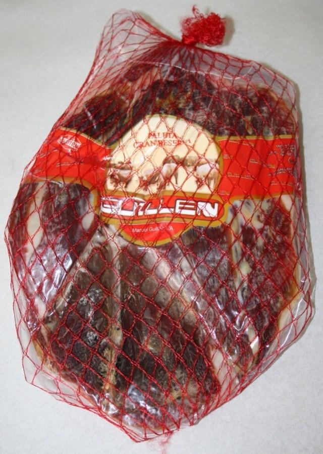 Paleta Gran Reserva Deshuesada - Peso aproximado: 2 kg 2,5 kg sin contar el embalaje GUILLEN-96