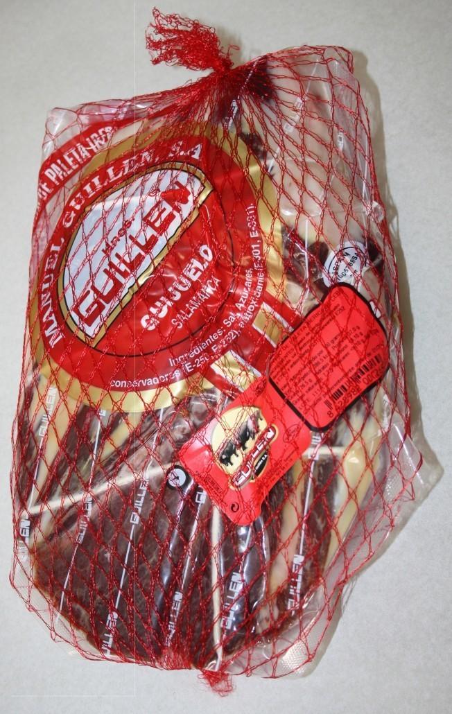 Paleta Ibérica Cebo Deshuesada - Peso aproximado: 2,2 kg a 2,7 kg sin contar el embalaje GUILLEN-8