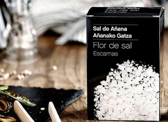 Escamas de Flor de Sal, caja 125g Escamas de Flor de Sal, caja 125g