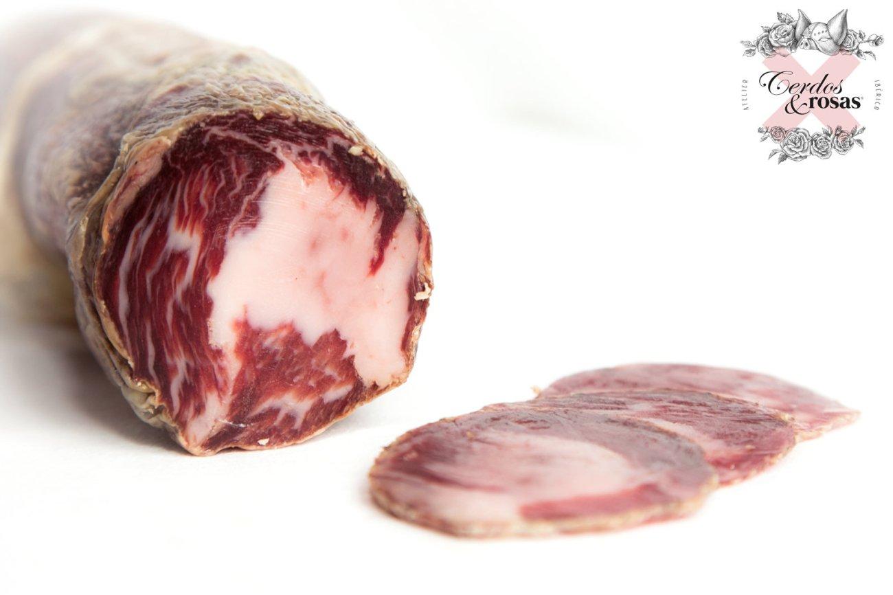 Cerdos y Rosas: Copa Ibérica de Bellota. Peso aproximado 1,250kg CR-Co-Ib-Be-01