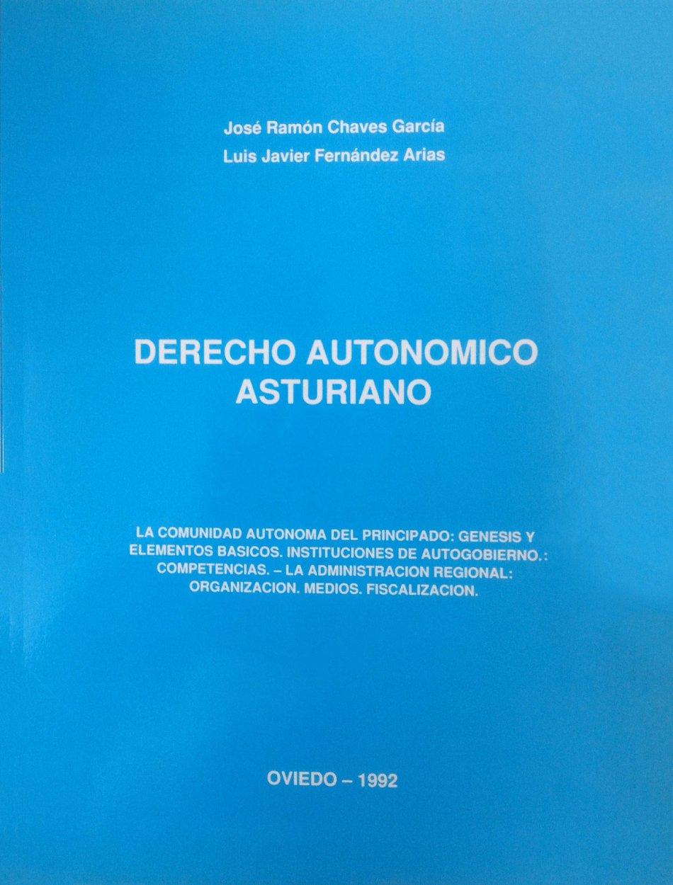 Derecho autonómico asturiano 84-604-1915-0