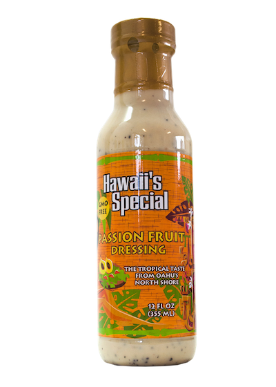 Passion Fruit Papaya Seed Dressing - GMO Free, 12 oz