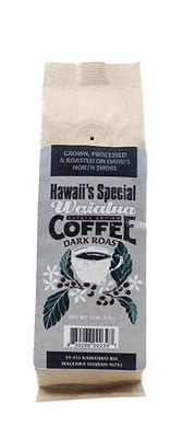 Waialua Coffee - Dark Roast, 2 oz - Whole Bean