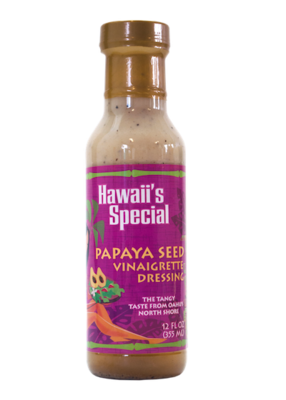 Papaya Seed Vinaigrette Dressing, 12 oz