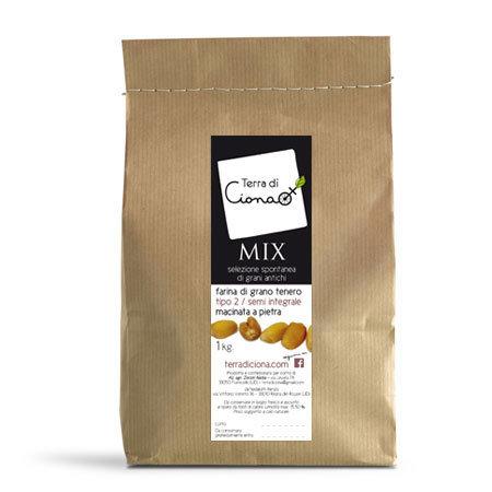 Farina di frumenti antichi MIX (1kg)