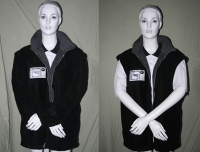 BMWCCV Fleece Jacket (with Removable Sleeves)