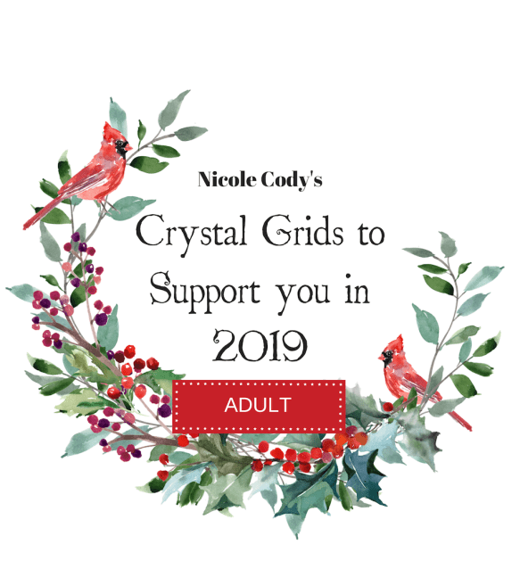 Crystal Grids to Support you in 2019 - Adult Ticket CRYSTALAD2018