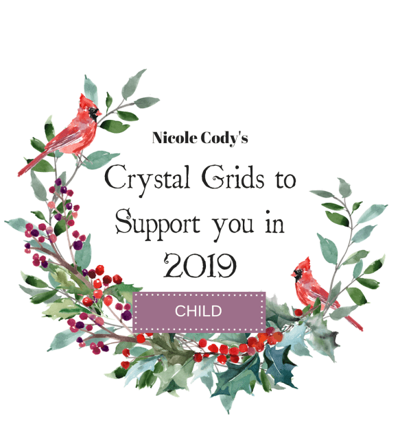 Crystal Grids to Support you in 2019 - Child Ticket - Under 17 CRYSTALCH2018