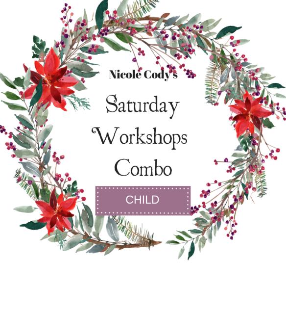 Saturday Workshops Combo - Child Ticket - Under 17 SATCOMCH2018