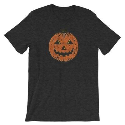 1950s Halloween Jack-o'-lantern Vintage T-Shirt