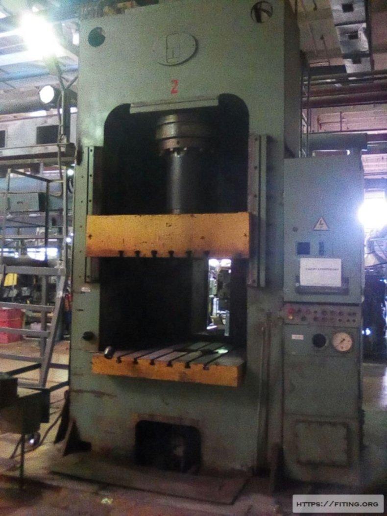 Пресс гидравлический для изготовления изделий из пластмасс ДБ2436 00004