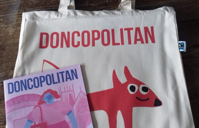 Doncopolitan Subscription + Tote Bag