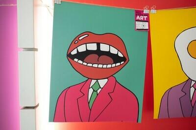 Mouth Print