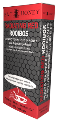 Radiating Red Rooibos Honey Shots