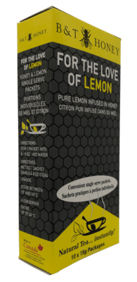 For the Love of Lemon Honey Shots