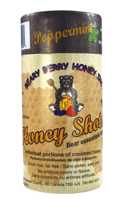 Peppermint Honey Shots