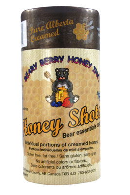 10 x 15 g Pure Alberta Creamed Honey Shots
