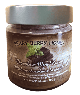 Chocolate Mint Honey (300 g)