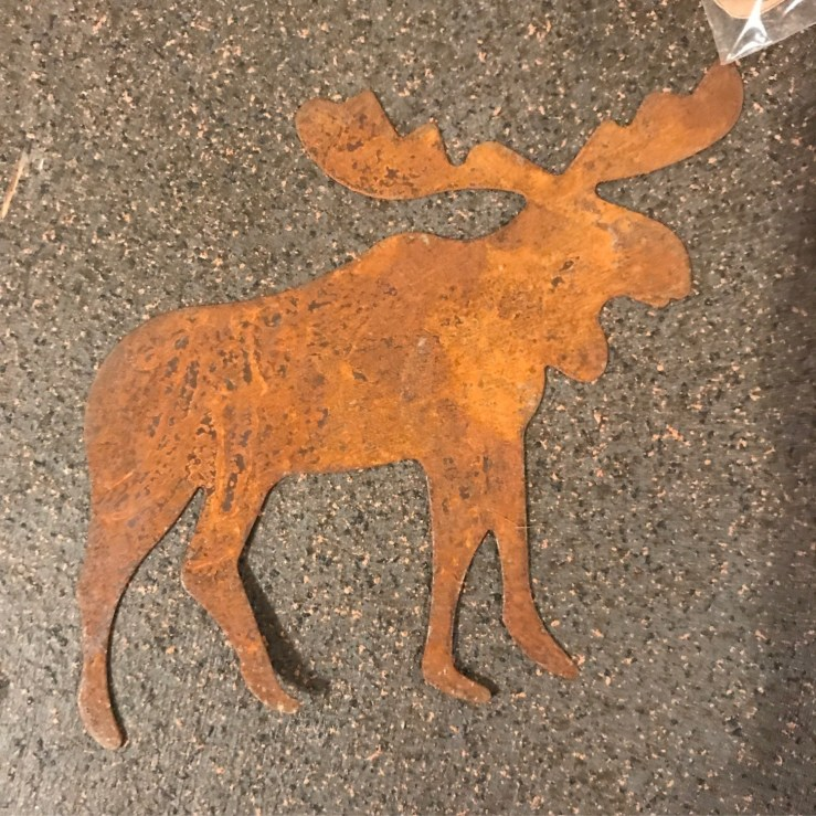 Rustic Moose - Large