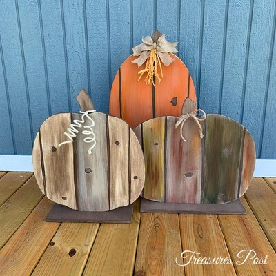 Rustic Pumpkin Workshop - 8/17/19