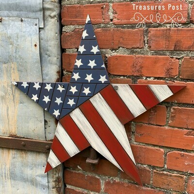 Star Flag Sign Kit