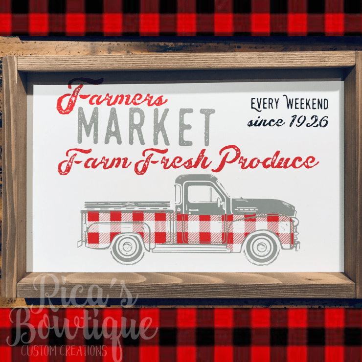 Double Sided Farmhouse Sign 12x18