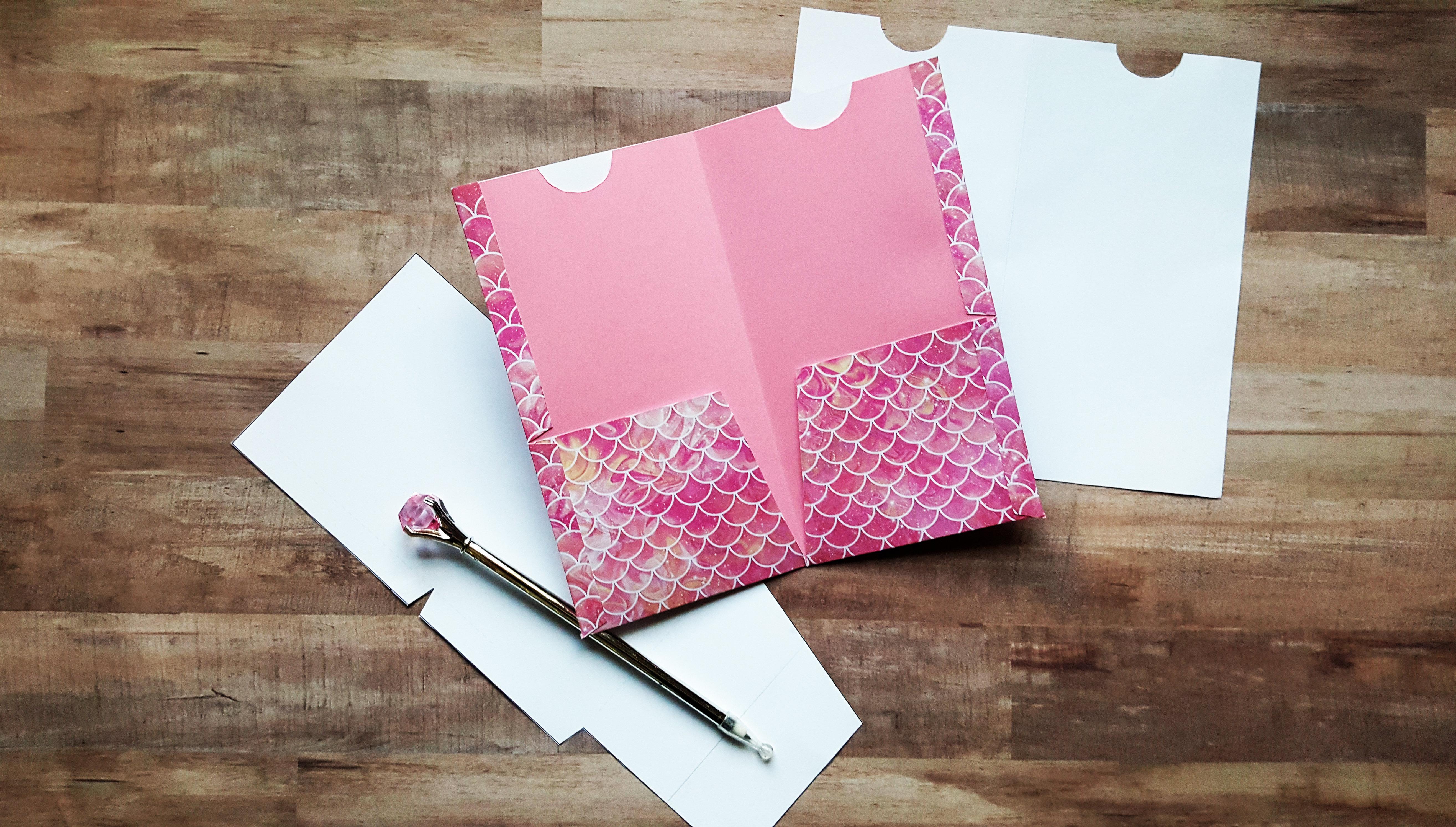 Folder Insert Template for Standard or Regular Size Traveler's Notebook