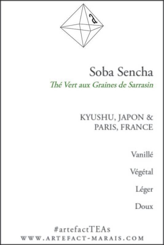 Soba Sencha: Paquet de 100g