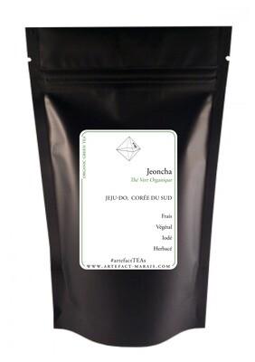 Jeoncha [Sencha Coréen BIO] : Paquet de 100g
