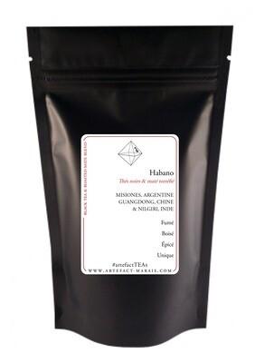 Habano [Thés noirs & maté torréfié] : Paquet de 100g