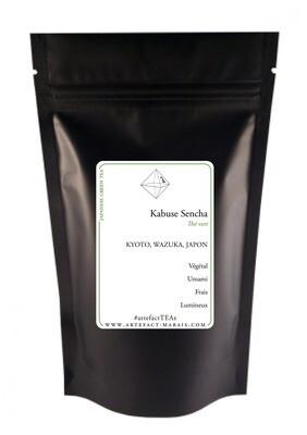 Kabuse Sencha [Thé vert du Japon] : Paquet de 20g