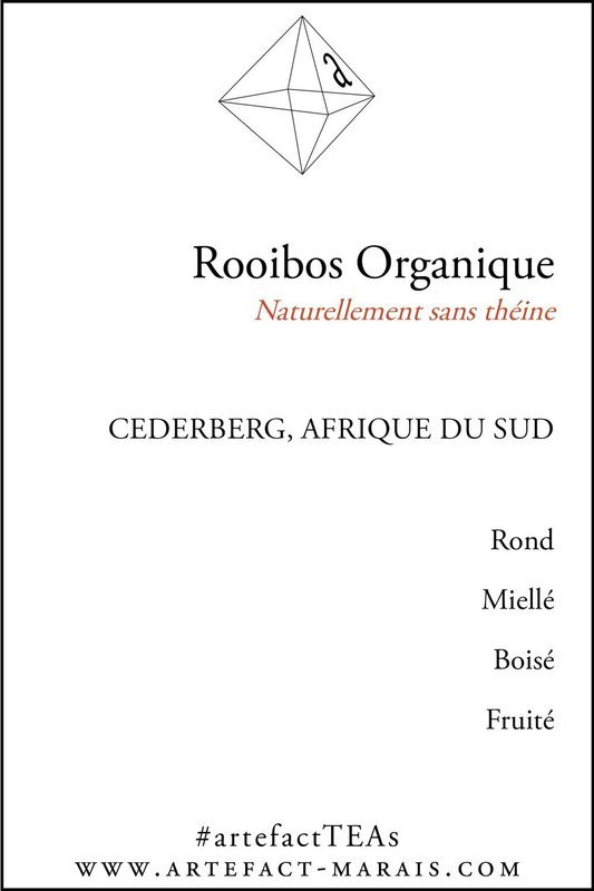 Rooibos Rouge Organique : Naturellement sans théine, Paquet de 100g
