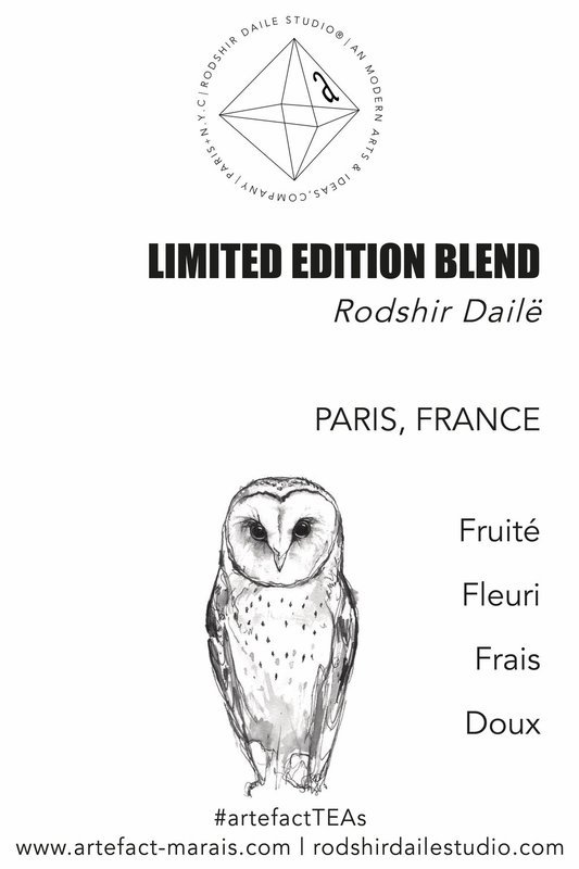 LIMITED EDITION TEA BLEND: Rodshir Dailë