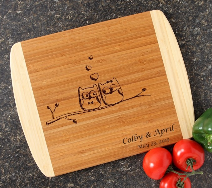 personalized cutting board custom engraved 14x11 design 29 latest