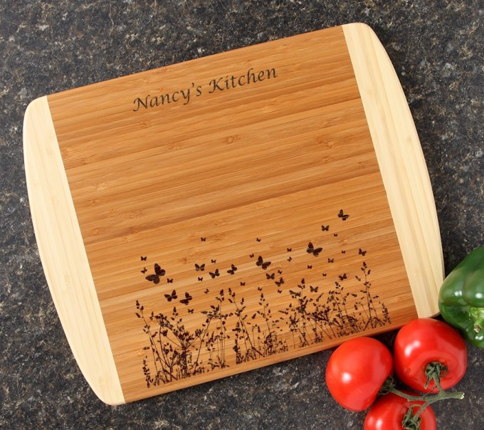 Personalized Cutting Board Custom Engraved 14x11 DESIGN 30 CBC-030