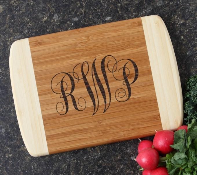 Personalized Cutting Board Custom Engraved 10 x 7 DESIGN 1 CBG-001