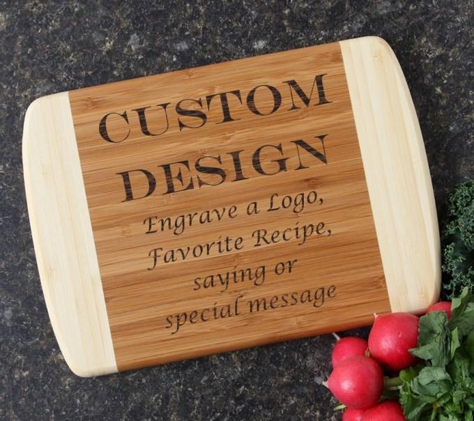 Personalized Cutting Board Custom Engraved 10 x 7 DESIGN 13 CBG-013
