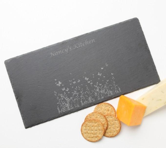 Personalized Slate Cheese Board 15 x 7 DESIGN 30 SCB-030