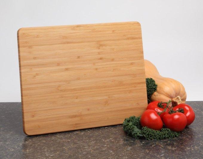 Personalized Cutting Board, Custom Engraved Bamboo Cutting Board-15 x 12