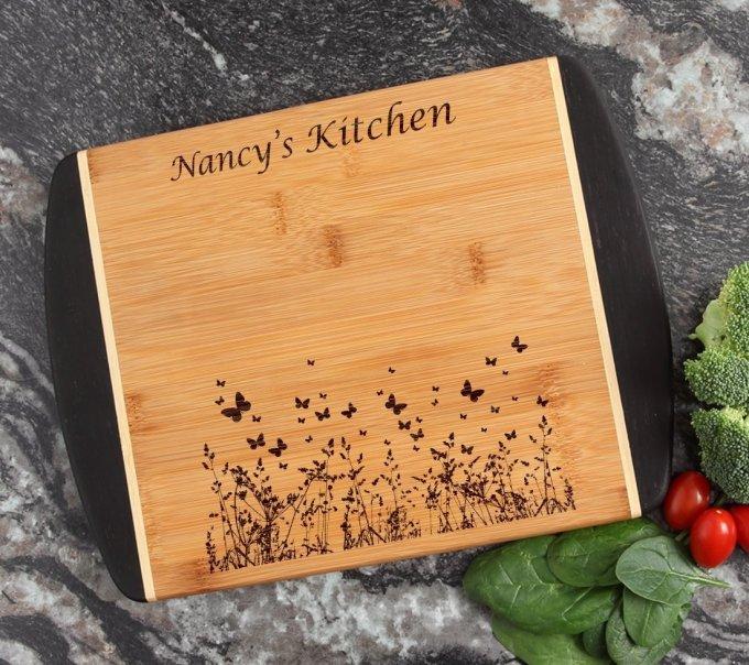 Cutting Board Engraved Personalized Bamboo 12 x 9 DESIGN 30 CBI-030