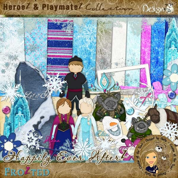 Happily Ever AfterZ: FroZted dedesmith_heafz