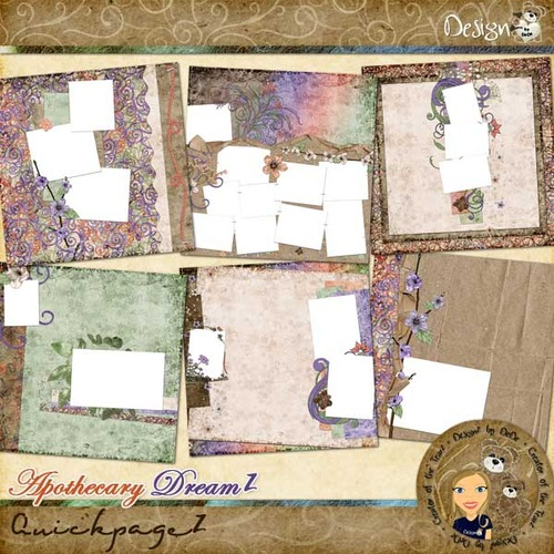 Apothecary DreamZ: Quickpages