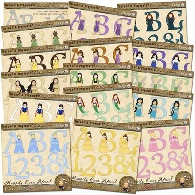 Happily Ever AfterZ: Princess Alpha Bundle