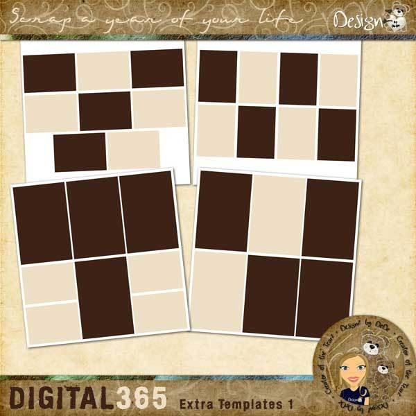Digital 365: Extra Templates 1
