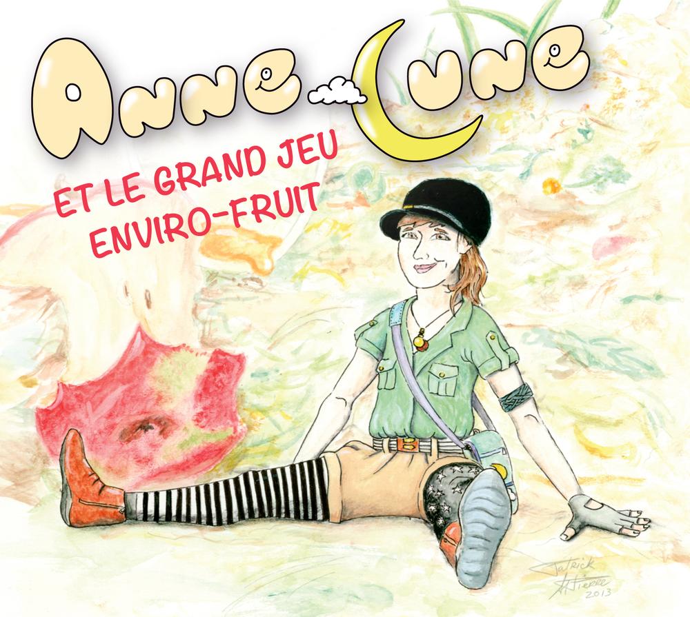 Disque Anne-Lune et le Grand jeu Enviro-fruit 0000000