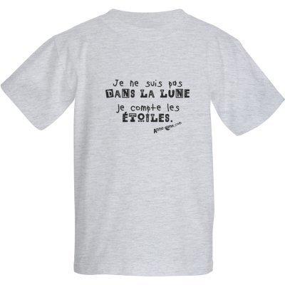 T-shirt enfant lune (taille XS)